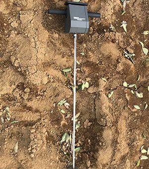 新型土壌硬度計(DIK-5532、大起理化工業社製)の導入事例
